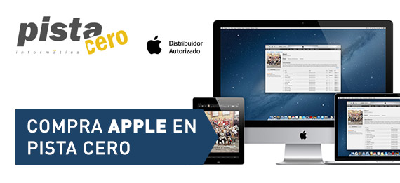 Compra Apple en Pista Cero